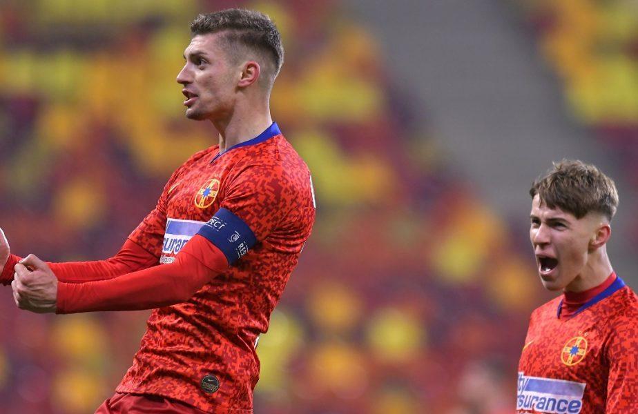 Florin Tănase, cifre uimitoare! Căpitanul FCSB a ajuns la o bornă de senzaţie. Octavian Popescu l-a servit cu un assist de milioane!