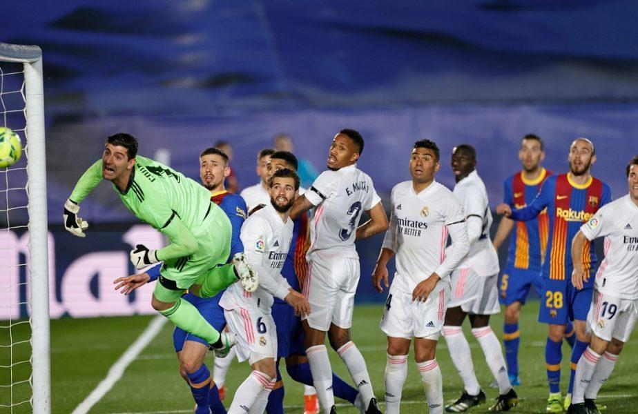 """Real Madrid – Barcelona 2-1. """"Galacticii"""", a treia victorie consecutivă în """"El Clasico"""". Starurile lui Zidane, succes magnific în lupta pentru titlul din La Liga. Cum arată clasamentul"""