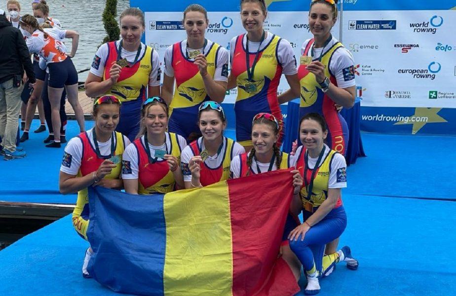 Succes uriaş pentru România! Două medalii de aur şi patru de argint la Campionatele Europene de canotaj