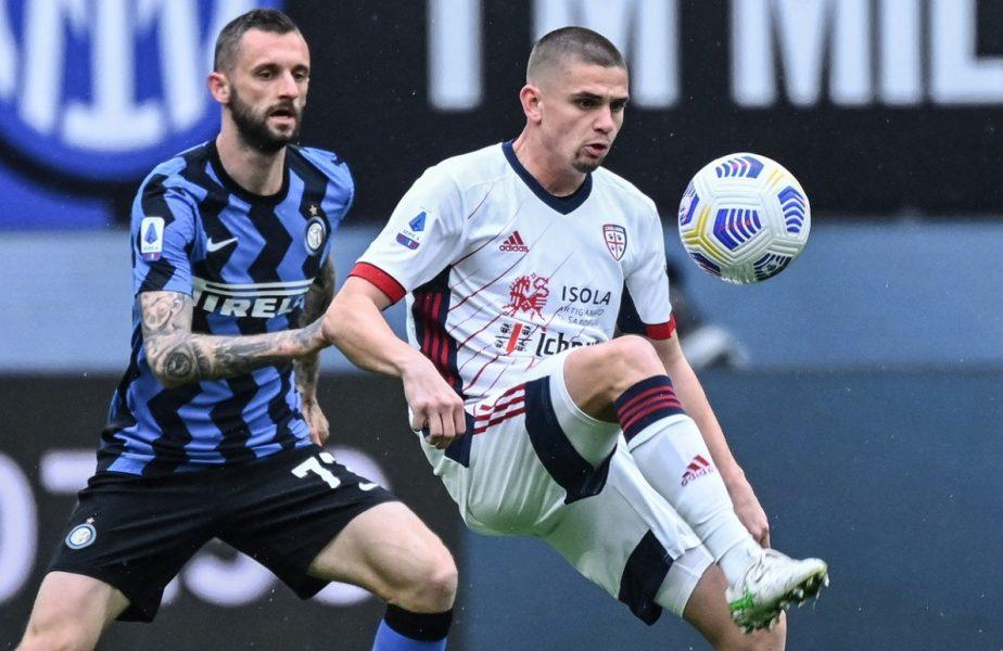 """Răzvan Marin, la mare căutare în Europa! AC Milan şi Lyon se luptă pentru semnătura mijlocaşului: """"Juninho s-a îndrăgostit de el!"""" Ce sumă uriaşă a refuzat Cagliari"""