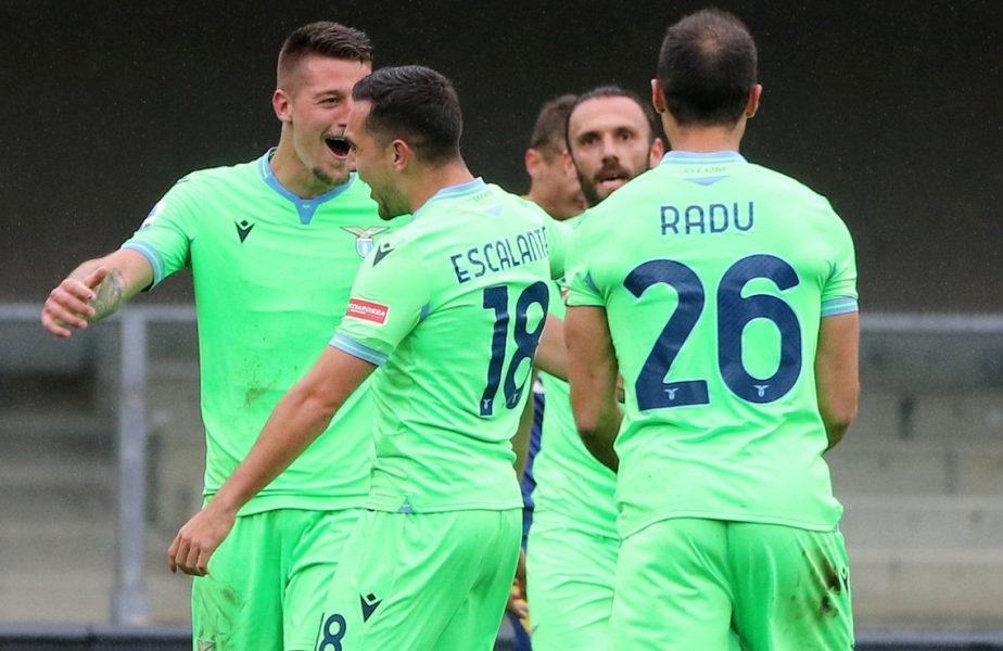 Ştefan Radu, decisiv în Verona – Lazio 0-1! Pasă de gol la primul meci după ce a scris istorie în Italia
