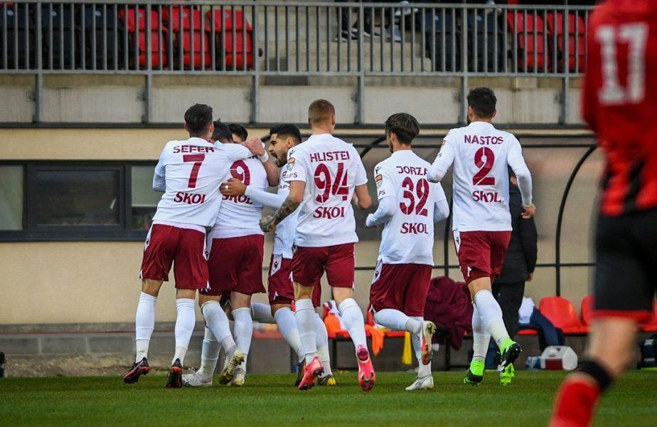 """Rapid – Dunărea Călăraşi 4-1. Giuleştenii defilează în play-off şi revin pe primul loc. Mihai Iosif: """"Dacă aveam o baghetă magică, o înviam pe mama"""""""