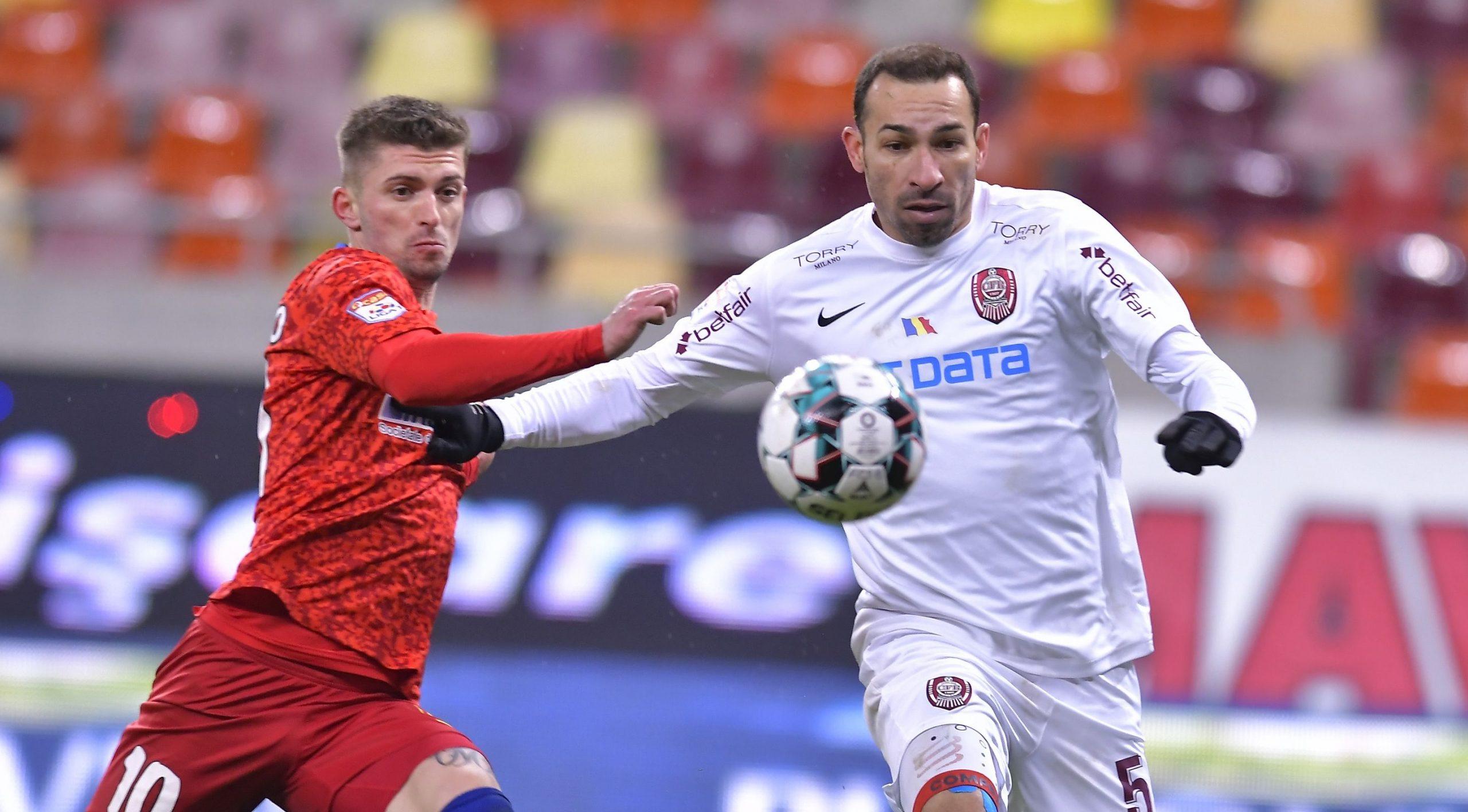 Florin Tănase, în duel cu Vinicius