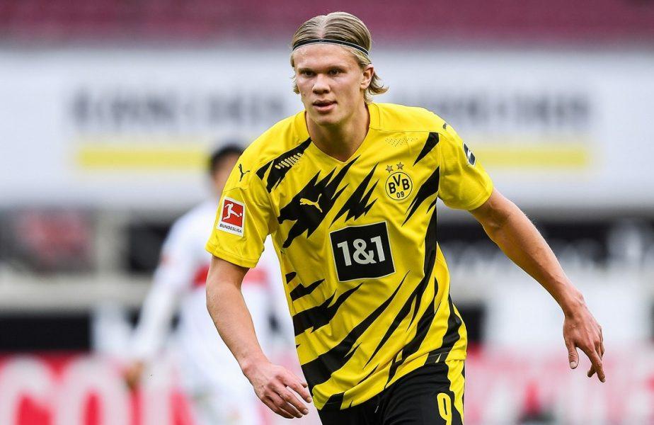 """Erling Haaland, """"blocat"""" la Dortmund! Nemţii îi pun beţe în roate lui Mino Raiola. Celebrul impresar a răbufnit: """"Nu sunt de acord!"""""""