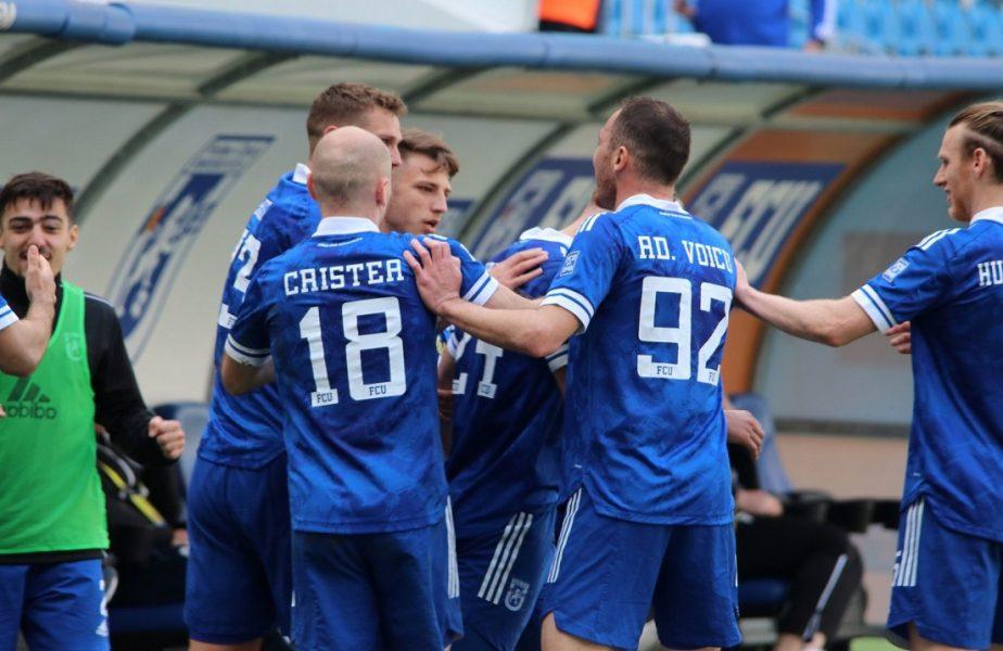 Csikszereda – FCU Craiova 1-2. Oltenii, noii lideri din play-off-ul Ligii 2! Îi aşteaptă chiar derby-ul cu Rapid. Cum arată clasamentul