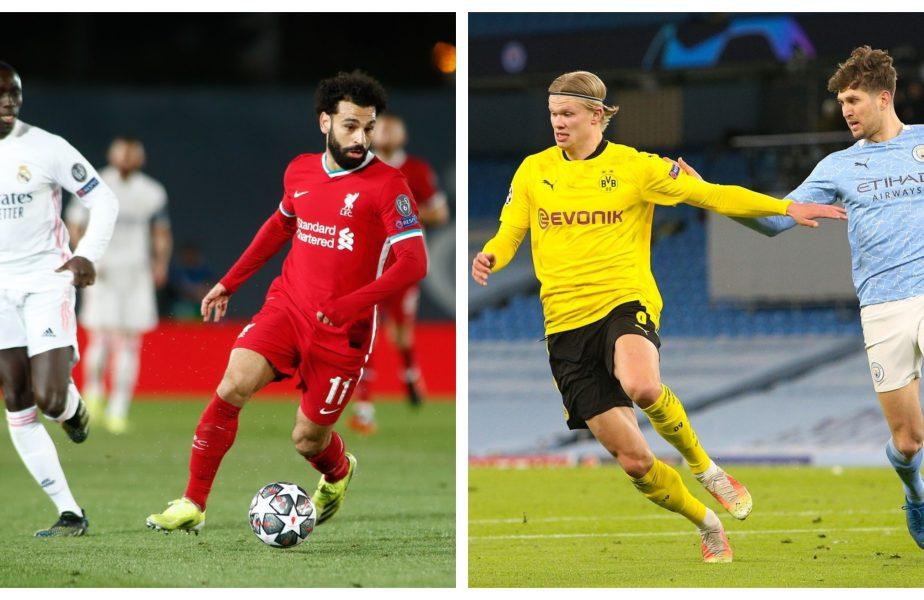 SFERTURILE CHAMPIONS LEAGUE | Liverpool – Real Madrid 0-0 și Borussia Dortmund – Manchester City 1-2. N-a fost loc de surprize la retur. Care sunt super-meciurile din semifinale
