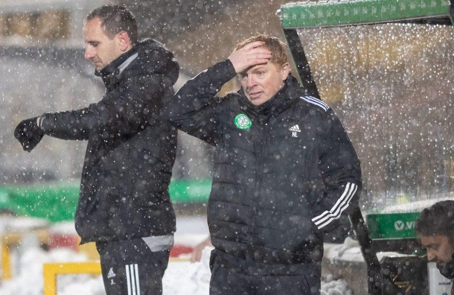 VIDEO Scene halucinante cu fostul antrenor de la Celtic! Neil Lennon apare beat și abia se ține pe picioare. Incredibil cine i-a luat apărarea