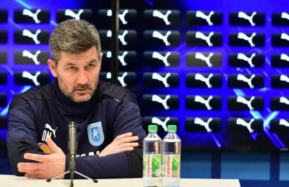 """Marinos Ouzounidis, prima reacție după Universitatea Craiova – Viitorul Pandurii 3-0: """"Pot apărea surprize!"""" Ce a spus despre transferul lui Cephas Malele"""