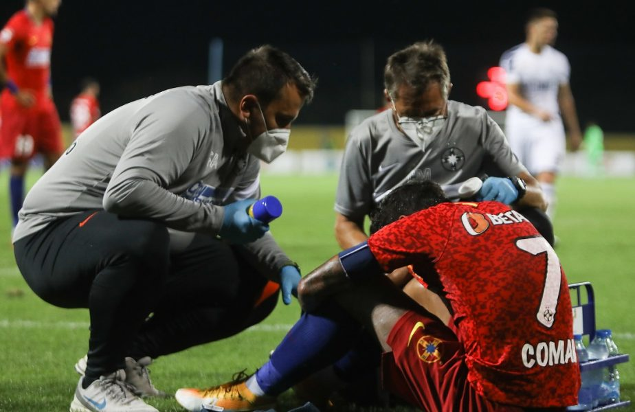 """Începe războiul FRF vs. FCSB! Florinel Coman, mărul discordiei: """"Era accidentat dinainte, de la echipa de club!"""". """"Perla"""" lui Becali, acuzat că a ascuns accidentarea"""