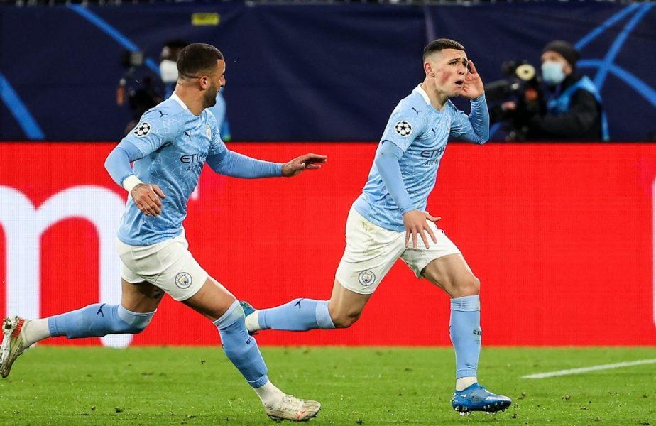Phil Foden a marcat cu Borussia Dortmund şi a prins curaj. L-a provocat pe Kylian Mbappe, dar s-a răzgândit după ce a trecut peste euforia calificării!