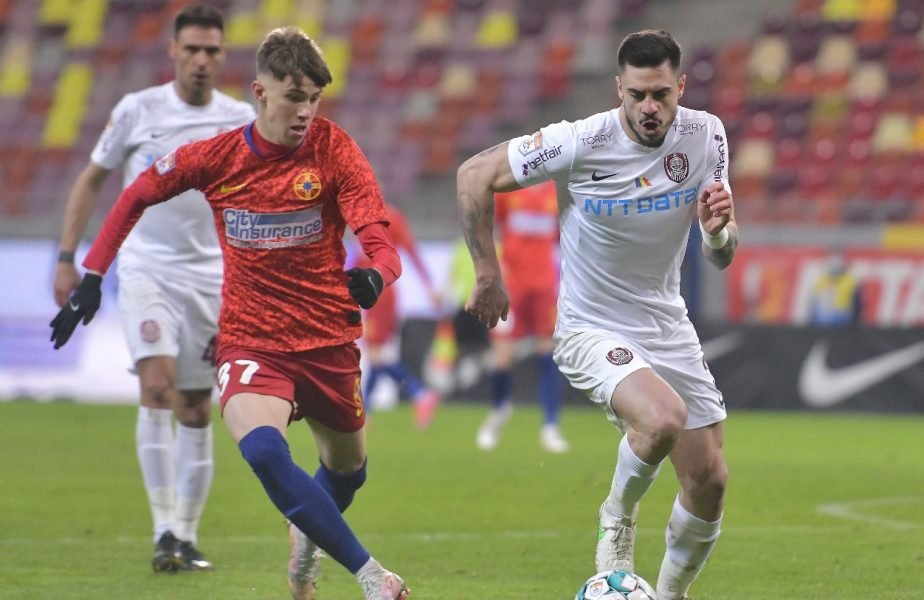 SUPERCUPA ROMÂNIEI | CFR Cluj – FCSB 0-0 (4-1 d.l.d). Campioana a pus mâna pe trofeu la loviturile de departajare. Şut şi Perianu au ratat pentru roş-albaştri