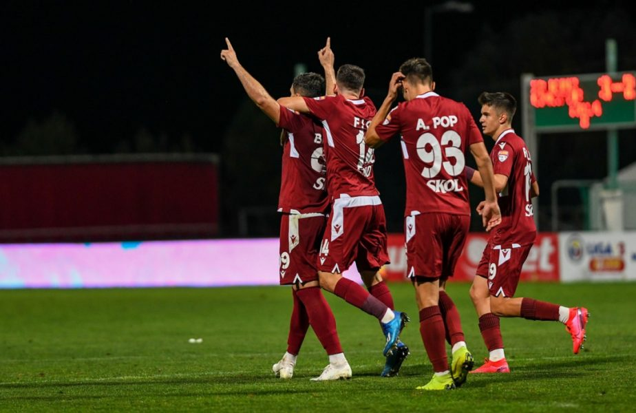 ASU Poli Timișoara – Rapid 1-2. Victorie dramatică pentru giuleșteni! Sefer a marcat în minutul 90+1. Cum arată clasamentul în Liga 2