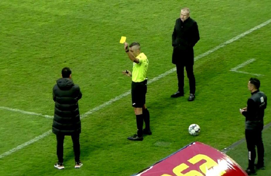 CFR Cluj – FCSB | Toni Petrea și Edi Iordănescu s-au luat la ceartă pe marginea terenului! Arbitrul i-a avertizat pe amândoi