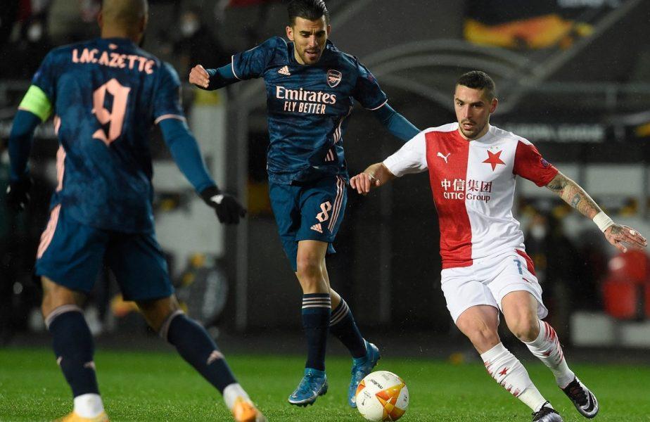 EUROPA LEAGUE | Nicolae Stanciu, vis spulberat după Slavia Praga – Arsenal 0-4. Manchester United – Roma şi Arsenal – Villarreal, în semifinale