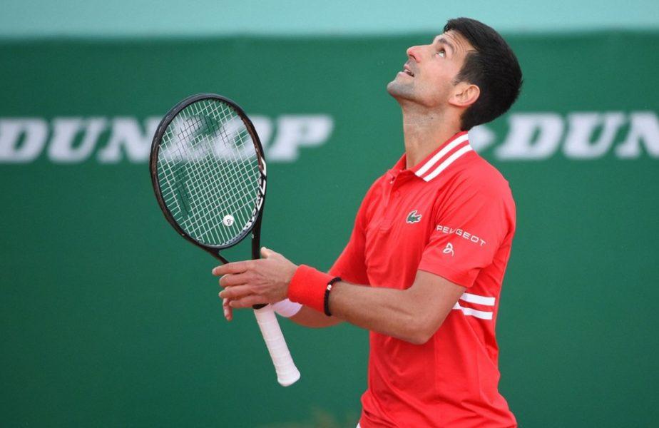 """Novak Djokovic, fără cuvinte după eliminarea istorică de la Monte Carlo: """"Am jucat groaznic!"""""""
