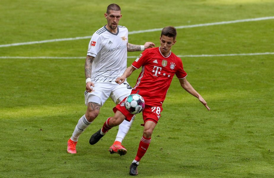 Evoluează la Bayern și are 8.000 de euro pe lună. Cât Lewandowski în două zile!