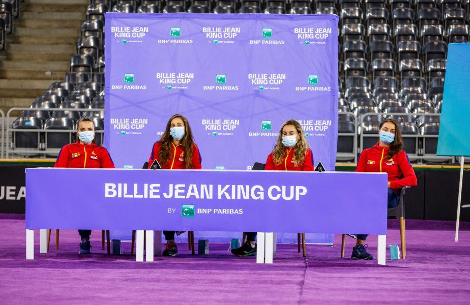 Reacţia Irinei Bara, după ce a pierdut primul meci din barajul cu Italia din play-off-ul FED Cup. Ce i-a spus Monica Niculaescu după meci
