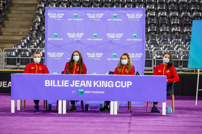 Echipa României de Fed Cup, Cluj, România-Italia