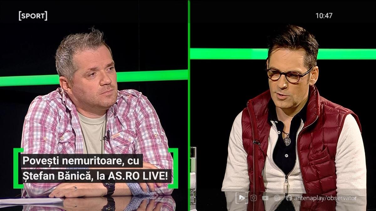 Ştefan Bănică, Cătălin Oprişan, AS.ro LIVE
