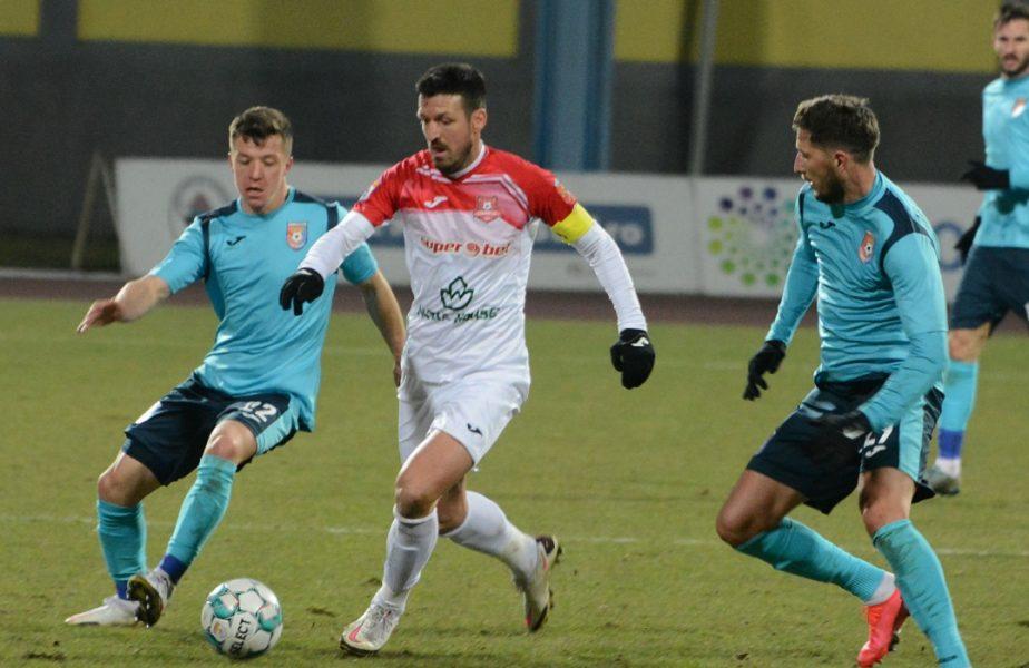 Chindia – Hermannstadt 2-0. Jucătorii lui Săndoi, lideri în play-out. Sibienii, pe ultimul loc în Liga 1