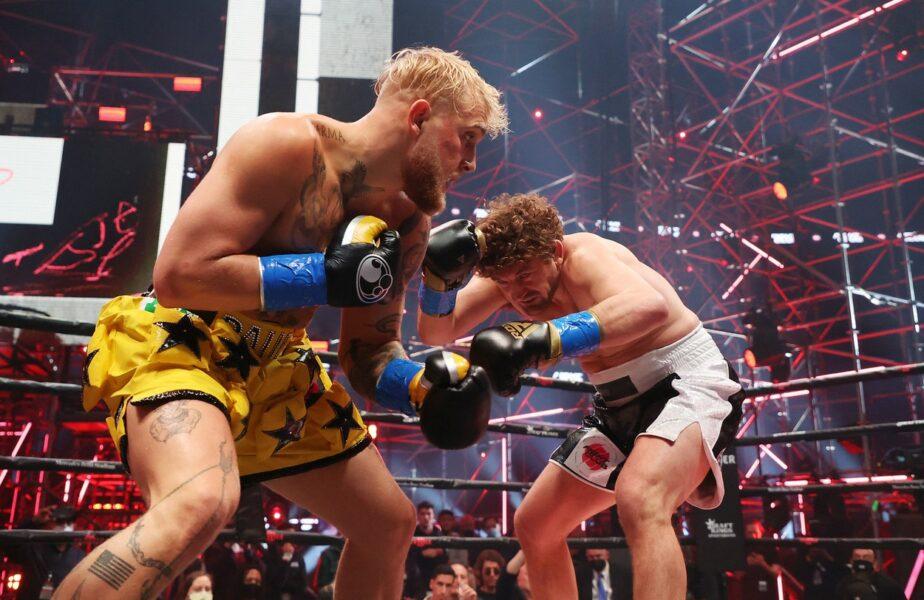 Jake Paul îl face KO pe Askren în prima repriză! Imagini ireale cu fostul campion de MMA pus la pământ de un youtuber