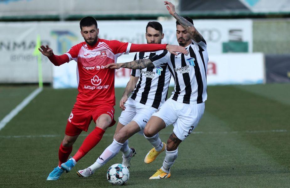 FC Hermannstadt – Astra 1-3. Meci nebun la Mediaş! Jucătorii lui Eugen Neagoe au făcut spectacol şi sunt lideri în play-out