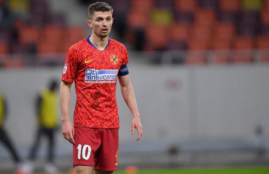 Alarmă la FCSB! Florin Tănase a ieşit accidentat din antrenament. Câţi titulari indisponibili are Toni Petrea