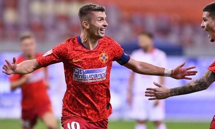Florin Tănase, în timpul unui meci