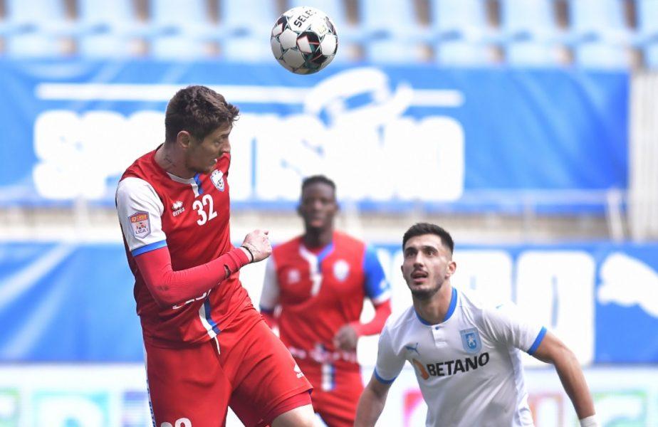 Botoşani – Craiova 1-1 | Oltenii, încă un pas greşit în lupta la titlu. Au patru egaluri în ultimele cinci etape