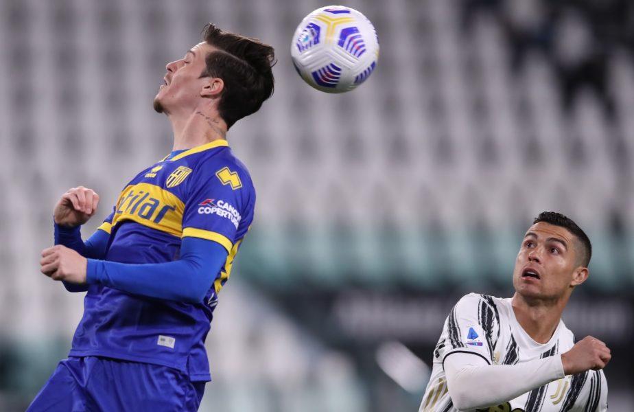Juventus – Parma 3-1 | Dennis Man şi Cristiano Ronaldo, aceeaşi notă primită de la Gazzetta dello Sport. Ce au scris italienii despre Man şi Mihăilă