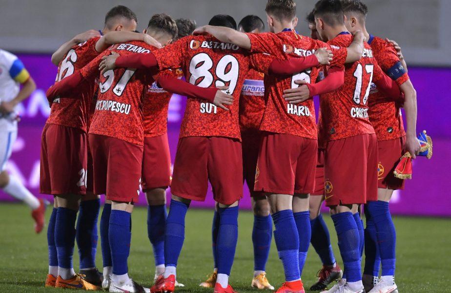 Academica Clinceni – FCSB 0-2. Florin Tănase duce echipa lui Gigi Becali pe primul loc de unul singur. Cum arată clasamentul