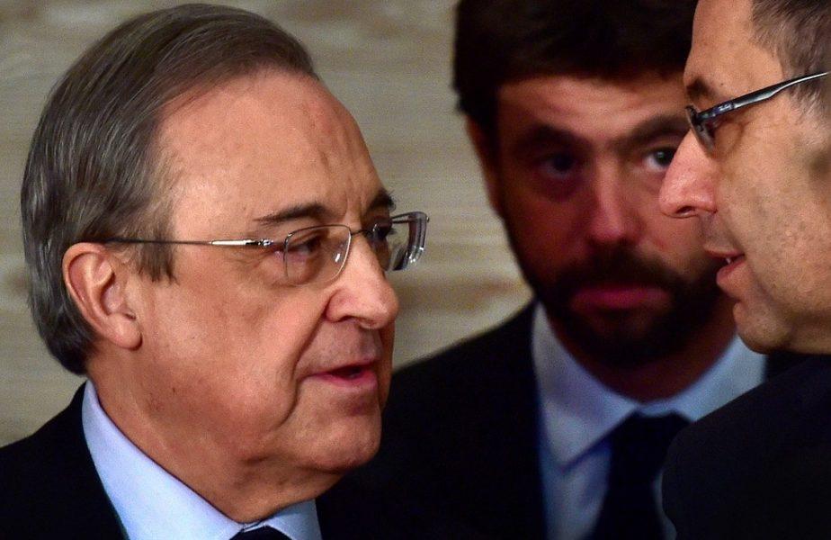 Un nou cutremur în fotbalul mondial! Real Madrid şi Juventus riscă să fie excluse din Europa pentru înfiinţarea Super Ligii Europei