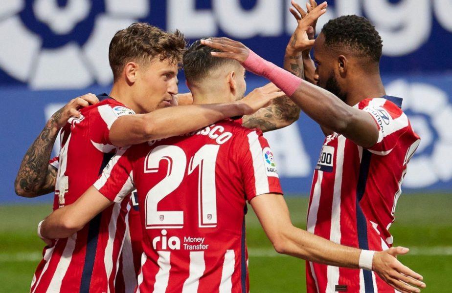 Atletico Madrid – Huesca 2-0. Luptă teribilă pentru titlu în Spania! Echipa lui Simeone pune presiune pe Barcelona și Real Madrid