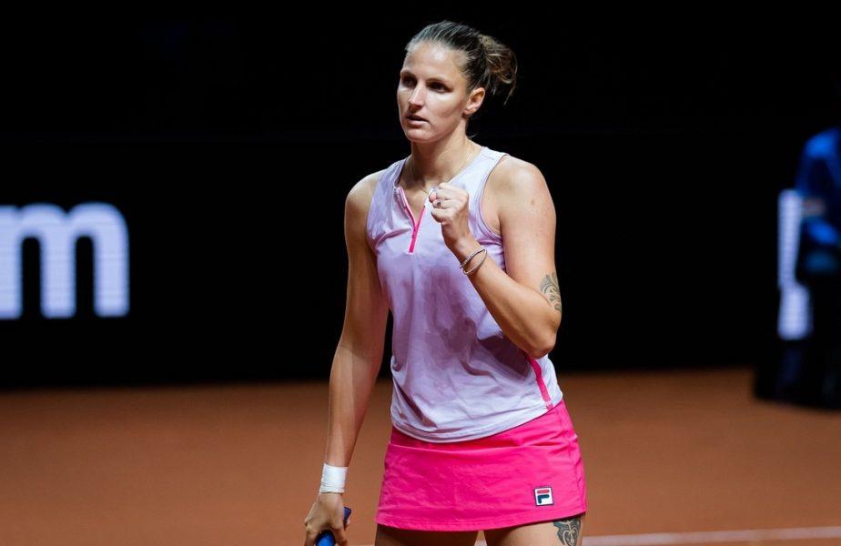 Karolina Pliskova a reuşit o performanţă uriaşă. Prietena Simonei Halep a făcut minuni în turneul de la Stuttgart. Este într-o formă de invidiat!