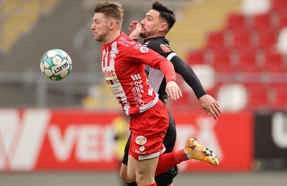 UTA Arad – FC Hermannstadt 0-1. Gură de oxigen pentru sibieni! Dinamo a ajuns pe loc retrogradabil