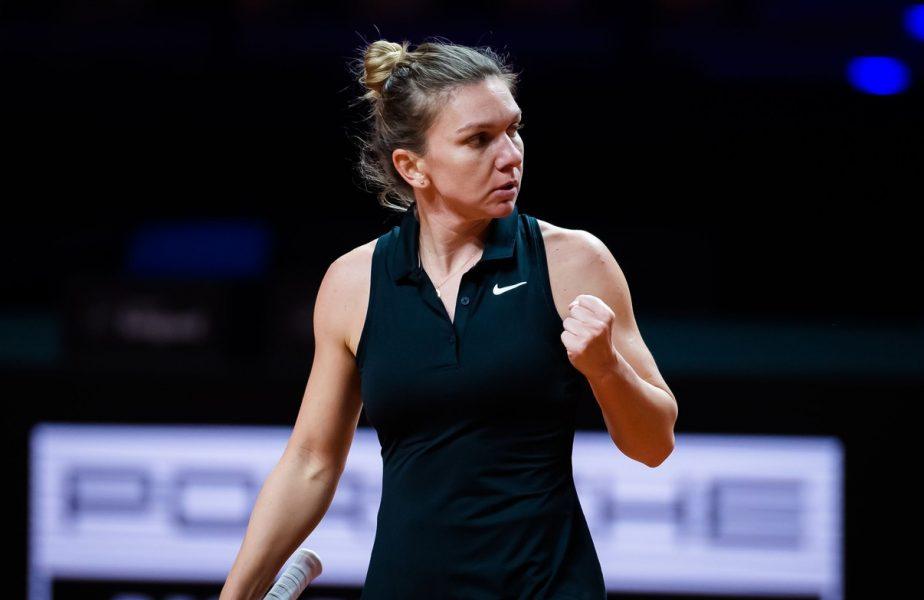 Simona Halep – Ekaterina Alexandrova 6-1, 6-4. Simona s-a calificat în semifinalele turneului de la Stuttgart, după un meci perfect