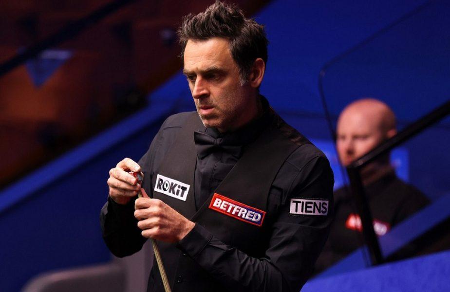 """Ronnie O'Sullivan, OUT de la Campionatul Mondial de snooker! Break-ul de 138 de puncte n-a fost suficient. """"Mă voi întoarce mai puternic"""""""