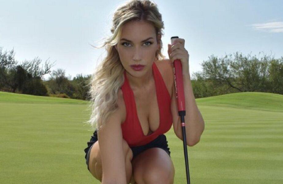 Paige Spiranac, cea mai sexy jucătoare de golf! Femeia aprinde imaginația fanilor pe rețelele de socializare. Secretul constă în fitness