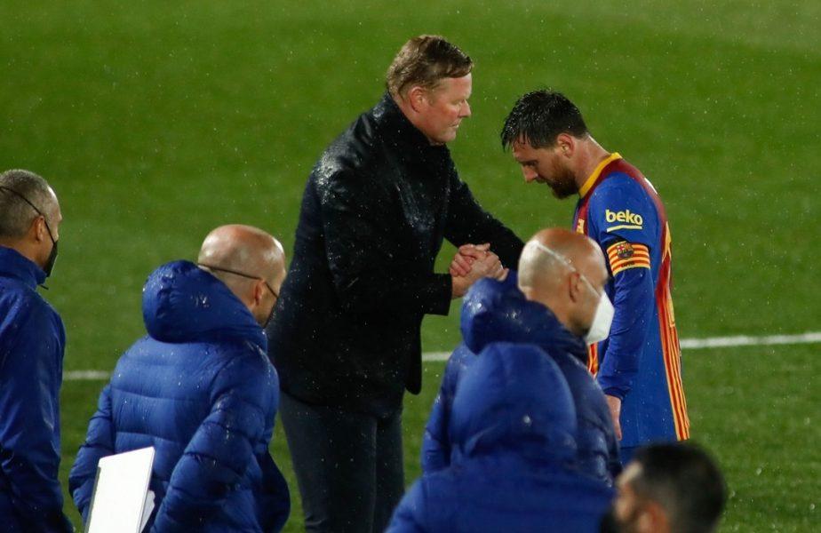 """Ronald Koeman, convins că va rămâne la Barcelona. """"Mă văd aici şi sezonul viitor!"""". Detalii despre viitorul lui Lionel Messi"""