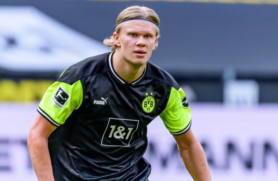 Wolfsburg – Dortmund 0-2. Erling Haaland i-a egalat pe Cristiano Ronaldo şi Leo Messi! Cifre uluitoare ale atacantului norvegian