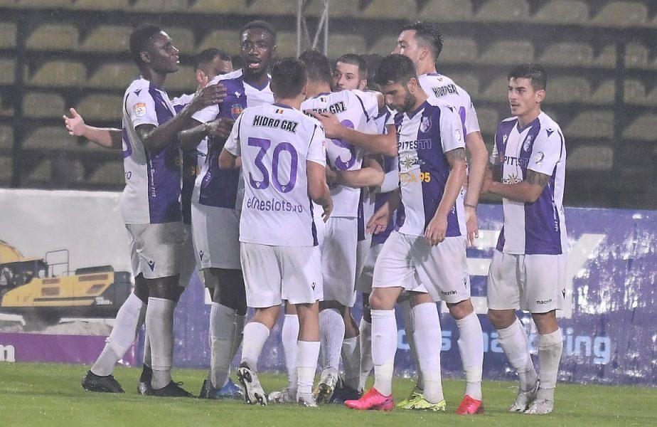 Astra – FC Argeş 0-1. Piteştenii, victorie cu emoţii! Malele a întrerupt seria de 13 meciuri fără înfrângere a giurgiuvenilor