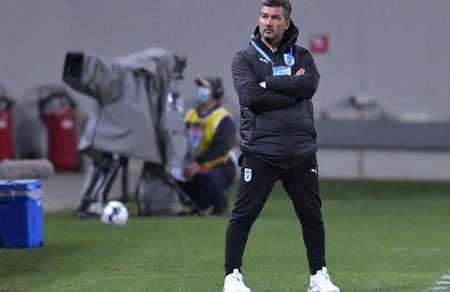 """CFR Cluj – Universitatea Craiova 1-2. Marinos Ouzounidis, mesaj categoric pentru jucători, după ce oltenii au reintrat în lupta la titlu: """"Putem mai bine!"""""""