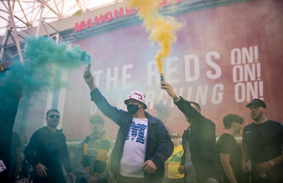 Super Liga Europei | Continuă scandalul în Anglia! Fanii lui Manchester United s-au săturat de patronii americani