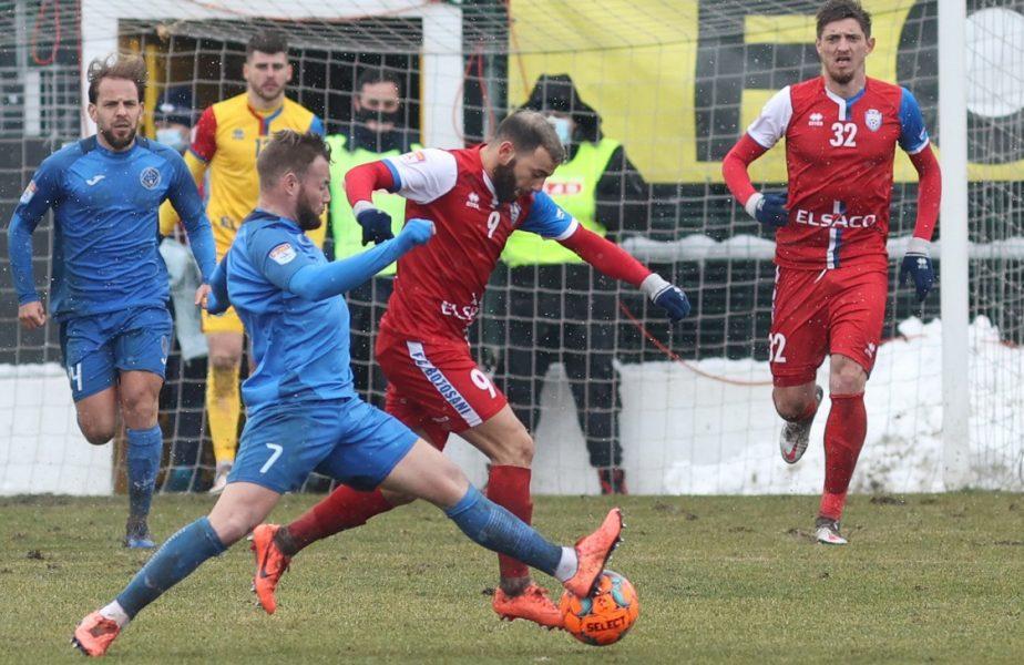 FC Botoşani – Academica Clinceni 2-1. Meci spectaculos pe Stadionul Municipal! Moldovenii, primul succes în play-off