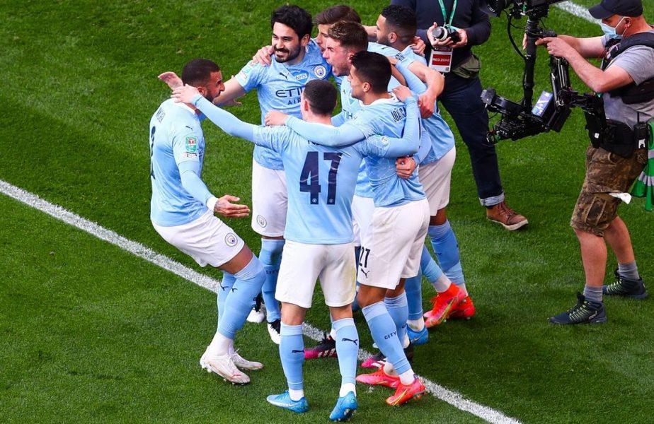 Manchester City – Tottenham 1-0. Echipa lui Pep Guardiola a câştigat Cupa Ligii Angliei! 8000 de fani, prezenţi pe Wembley