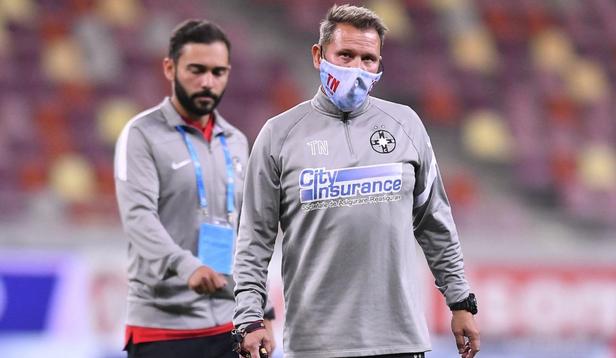 Thomas Neubert, suspendat o lună după scandalul de la FCSB – Sepsi 1-2! Ce se întâmplă cu Valentin Crețu