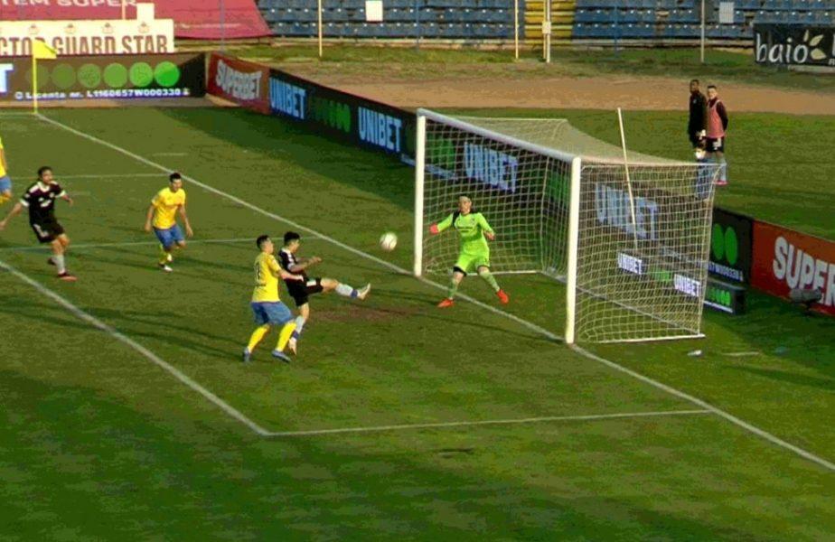 Mititelu Jr. și-a pus mâinile în cap! FC U Craiova a ratat o ocazie uriașă în meciul cu Dunărea Călărași