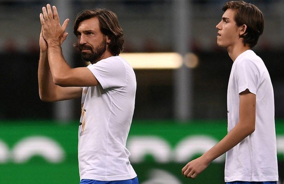 Fiul lui Andrea Pirlo, amenințat cu moartea după sezonul de coșmar al tatălui său la Juventus! Mesajul sfâșietor al puștiului