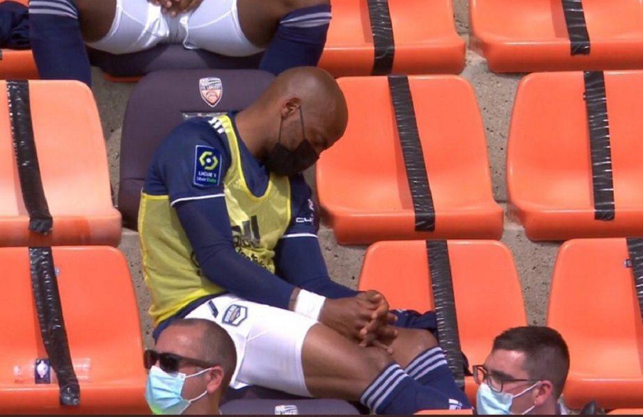 N-a mai suportat! Un fotbalist din Franța a adormit când echipa lui era condusă cu 3-0