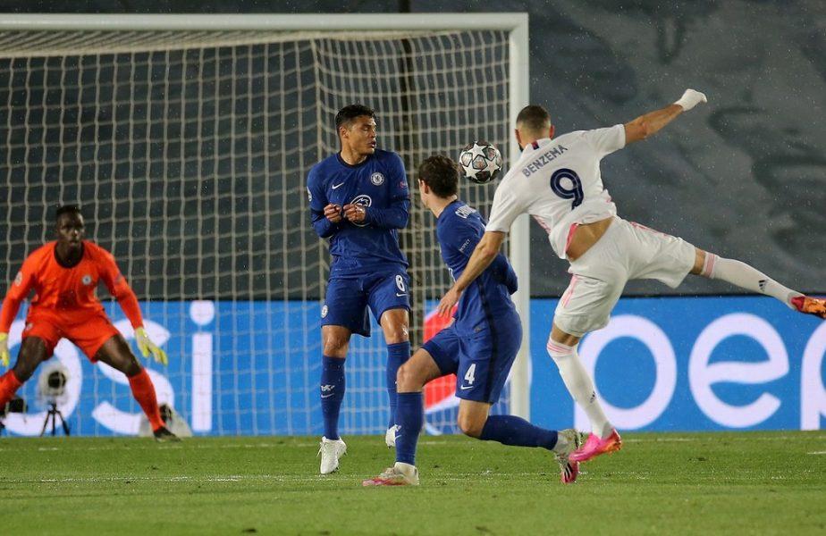Real Madrid – Chelsea 1-1! Bătălia finală se dă pe Stamford Bridge! Uriaşul Benzema l-a salvat pe Zidane. Pulisic, gol magnific. Werner s-a făcut de râs